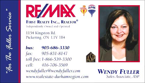 Wendy Fuller - Re/Max Sales Associate